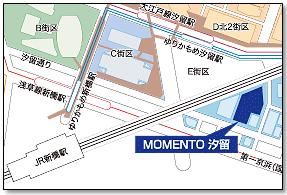 MOMENTO SHIODOME MAP